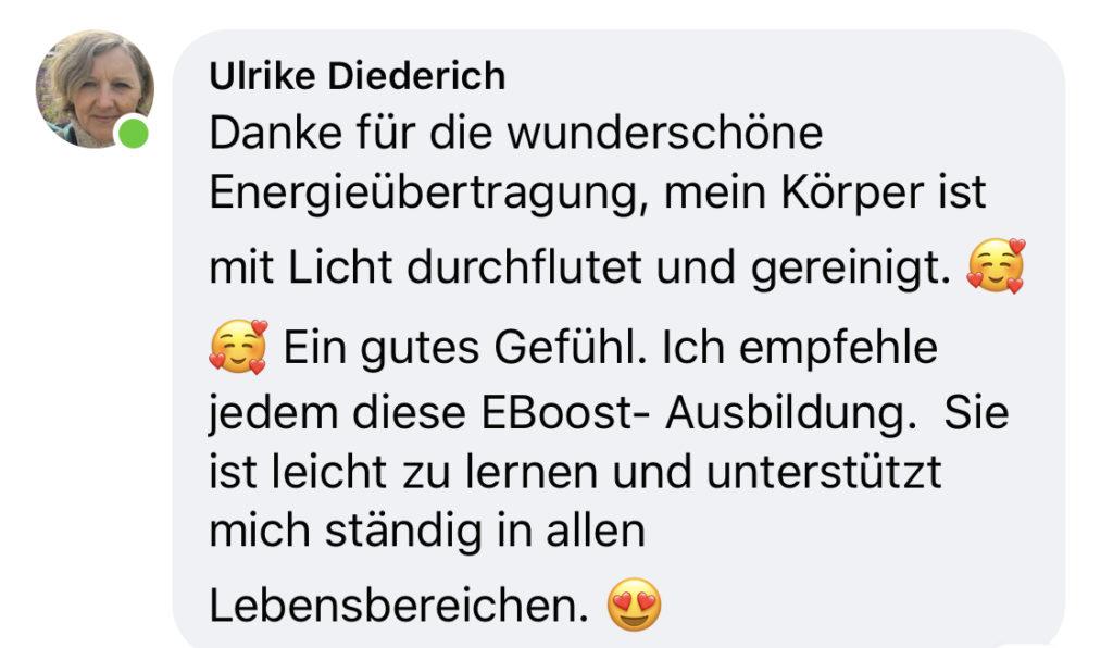 Testimonial eBoost Ulrike